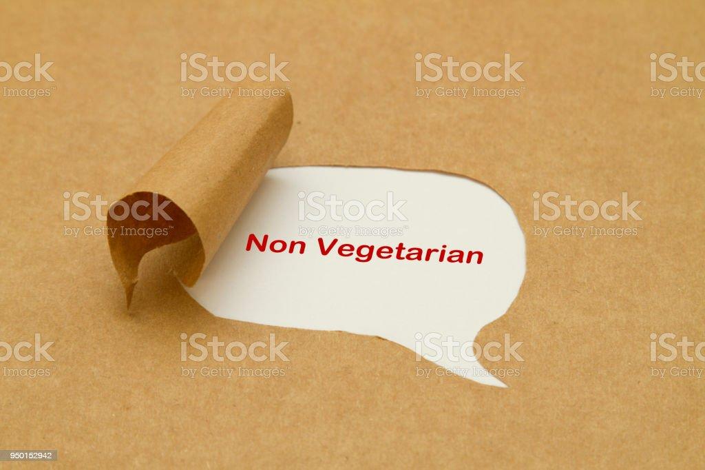 Non vegetarian stock photo