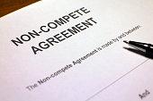 istock Non-compete Contract 497007918