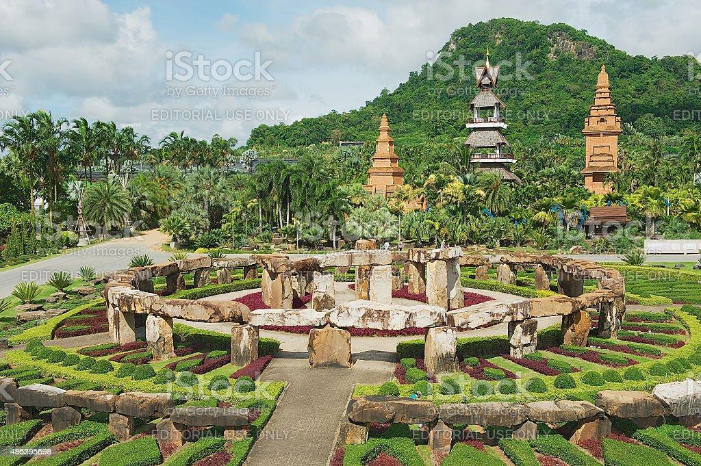 Nong Nooch Tropical Botanical Garden, Pattaya, Thailand. royalty-free stock photo