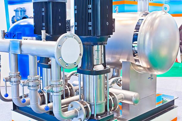 Nicht negativ Luftdrucksysteme und flow-stetige Wasser Ausstattung – Foto