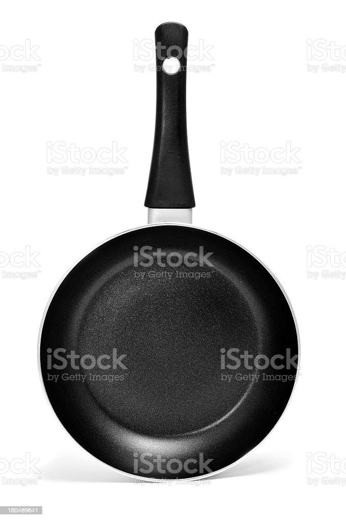 nonstick frying pan royalty-free stock photo