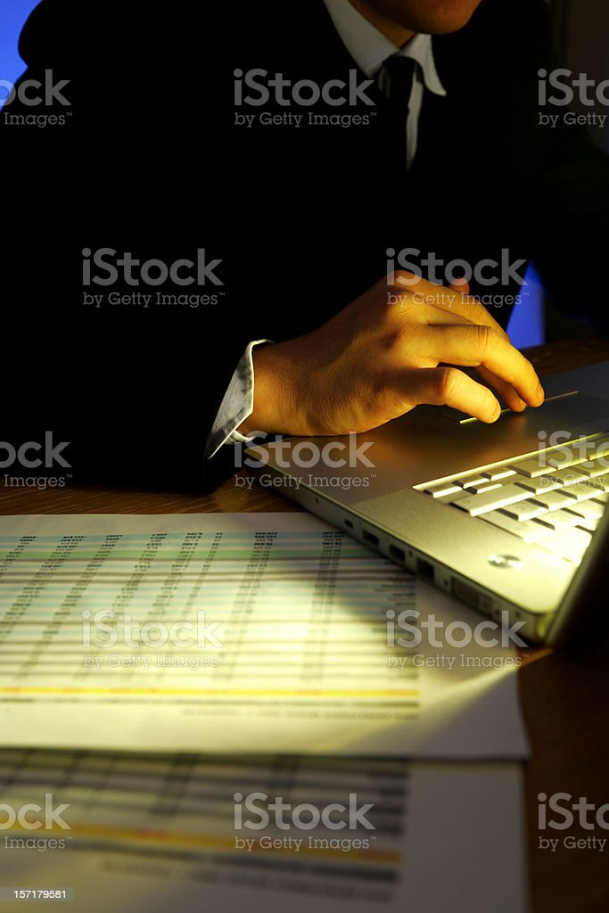 Non-stop working royalty-free stock photo