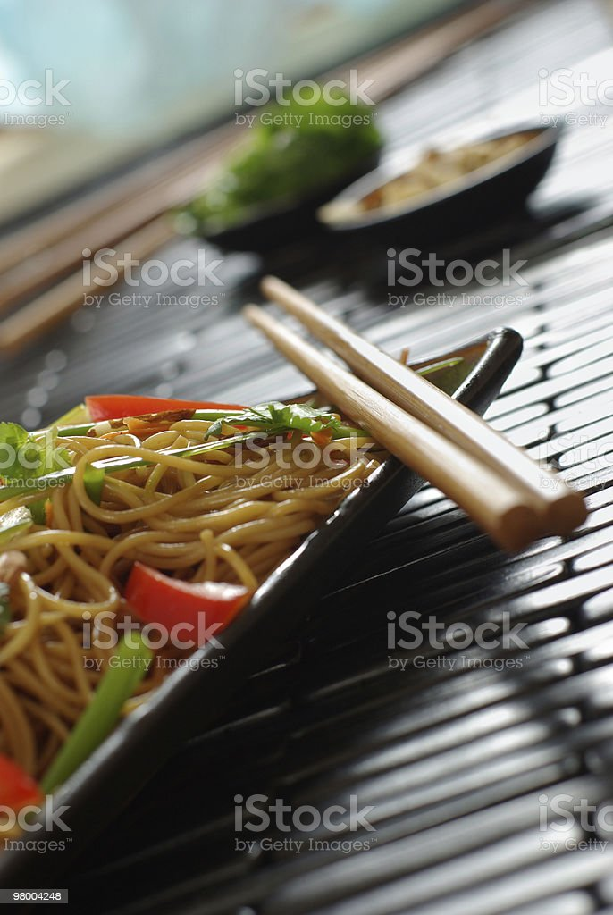 Noodle Abstract royalty free stockfoto