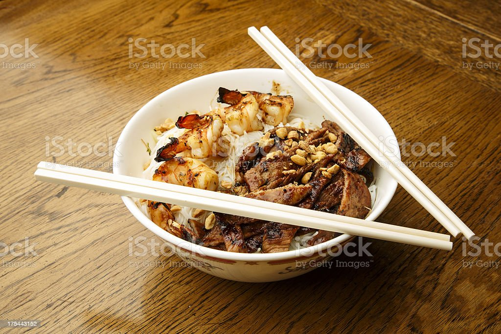 Noodle Bowl royalty-free stock photo