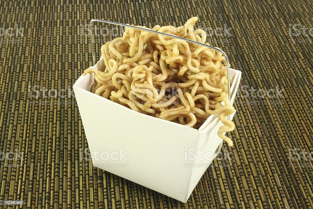 noodle box royalty-free stock photo