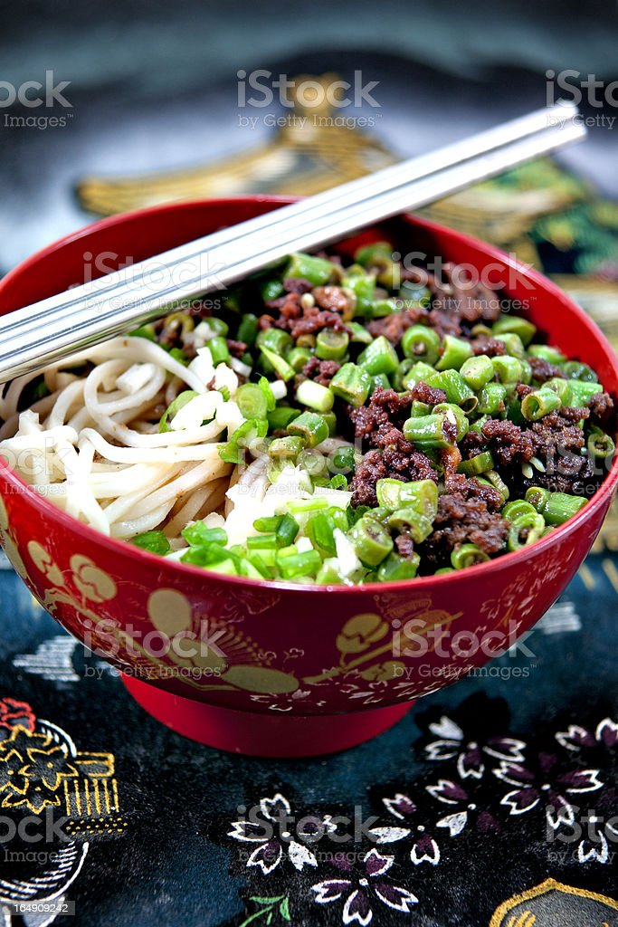 Noodle dish royalty-free stock photo