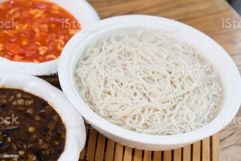 Noodle royalty-free stock photo