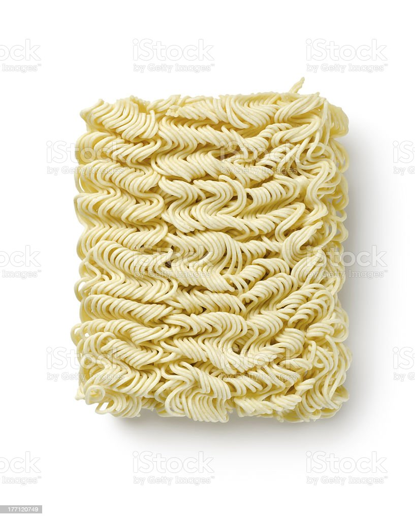 Noodles of fast preparation royalty-free stock photo