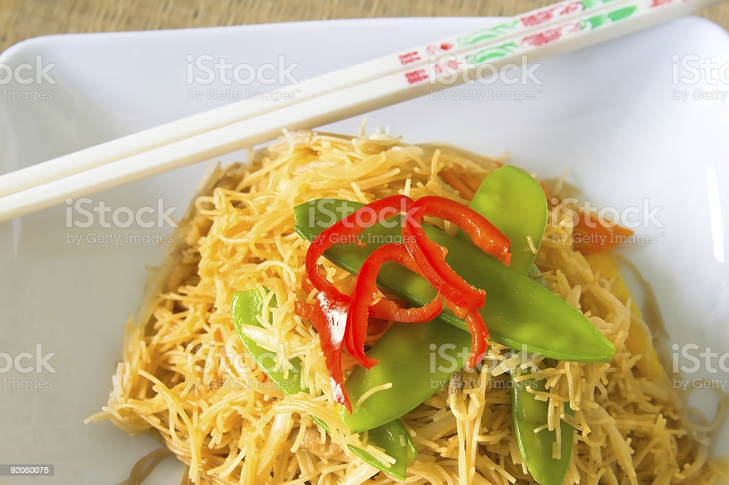 Noodles Series royalty-free stock photo