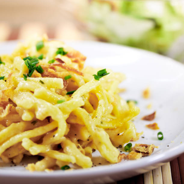 Nudeln mit Käse – Foto