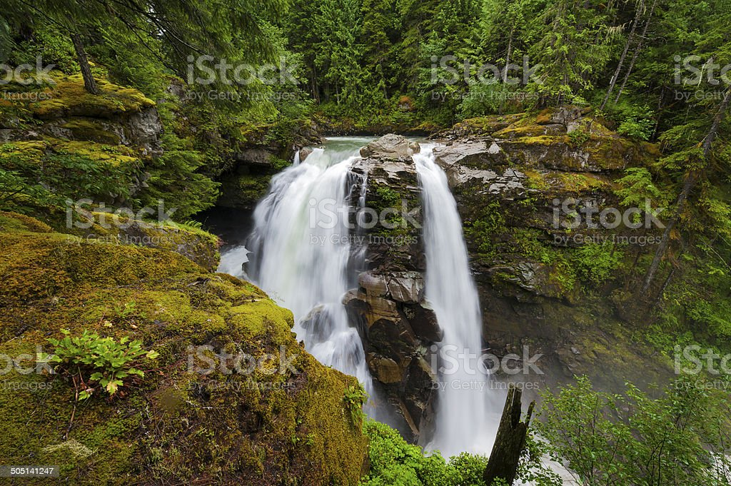Nooksack Falls. stock photo