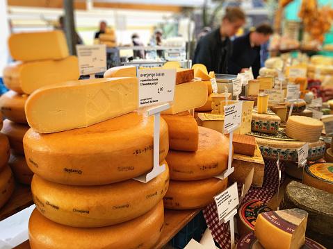 istock Noordermarkt farmer's market in Amsterdam 625468234