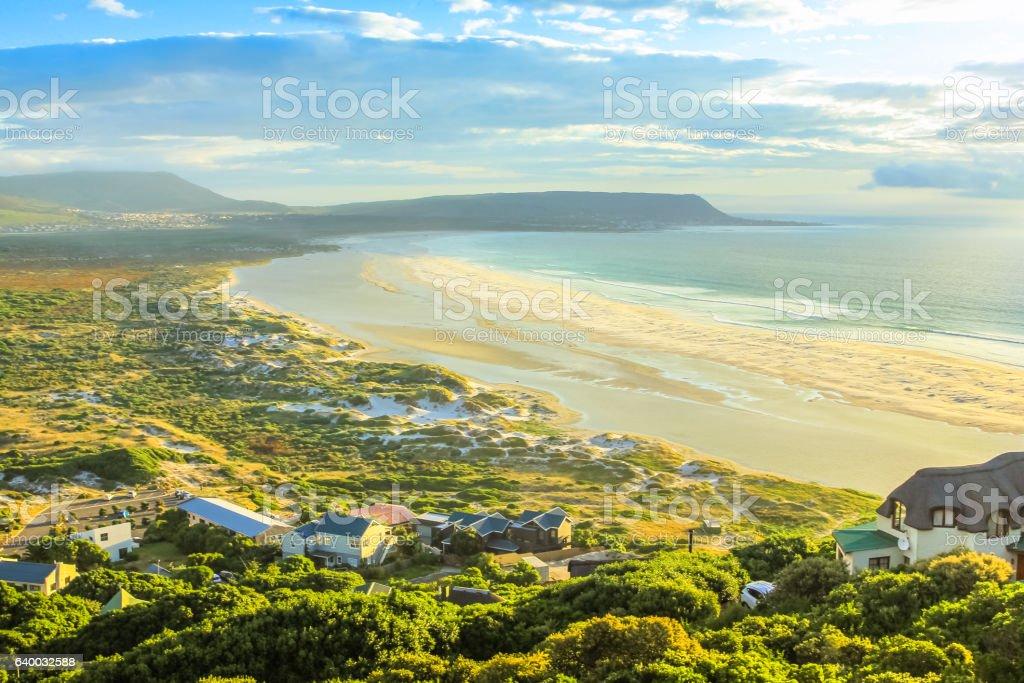 Noordhoek Beach Cape Town stock photo