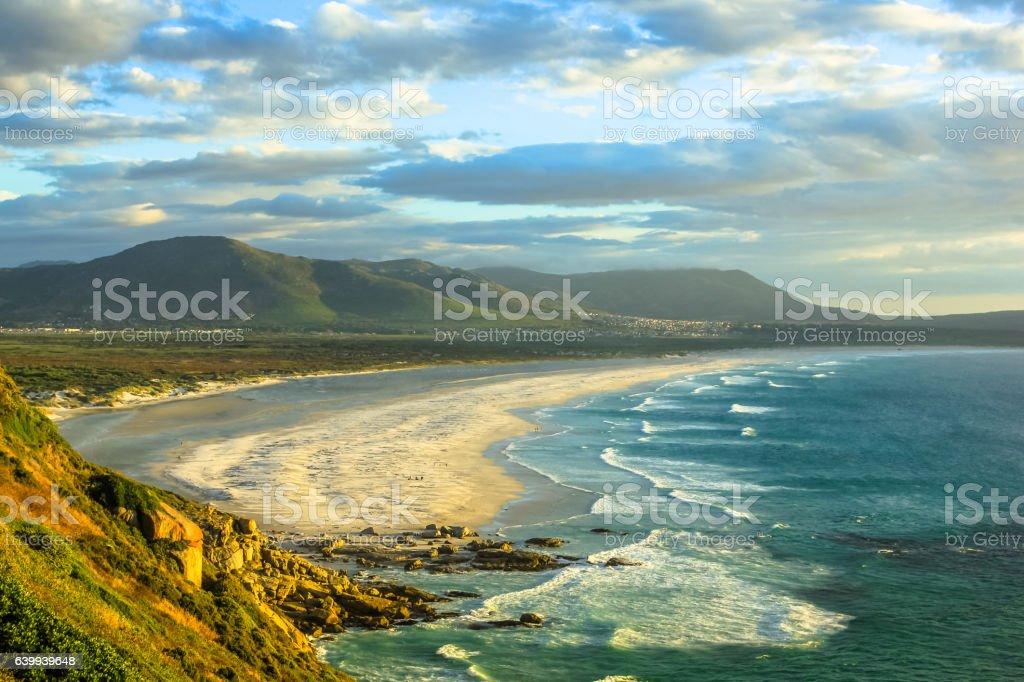 Noordhoek Beach South Africa stock photo