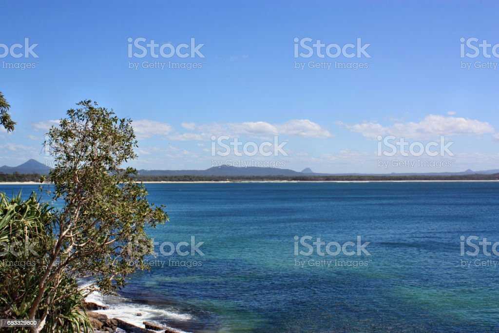 Noosa National Park royalty free stockfoto