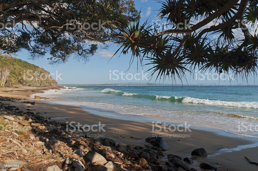 Noosa Tea Tree Bay Morning View stock photo