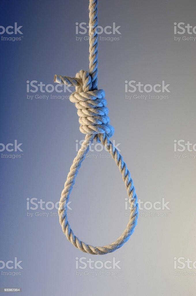 Noose stock photo