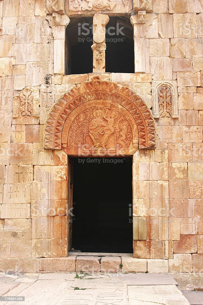 Noravank monastery royalty-free stock photo