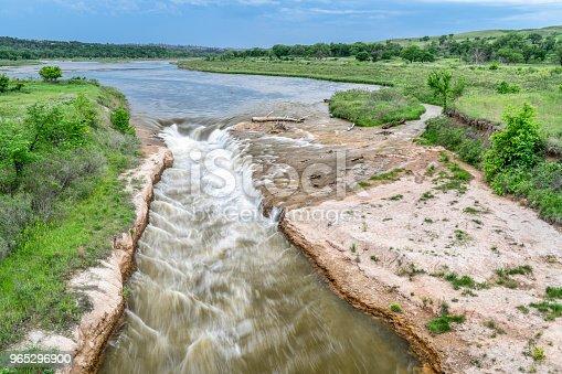 Norden Chute On Niobrara River Nebraska - zdjęcia stockowe i więcej obrazów Fotografika