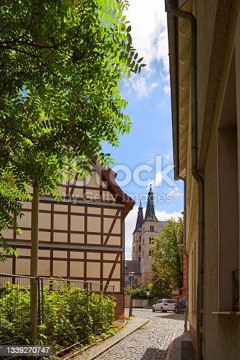 istock Nordhausen downtown facades Thuringia Germany 1339270747