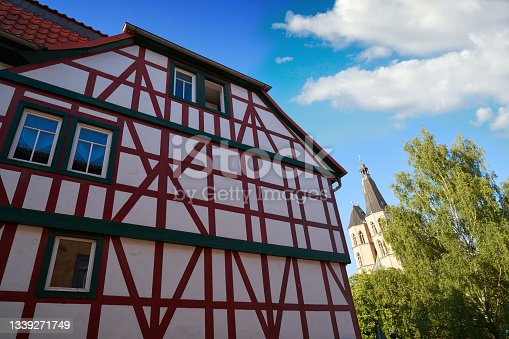 istock Nordhausen downtown facades Thuringia Germany 1339271749