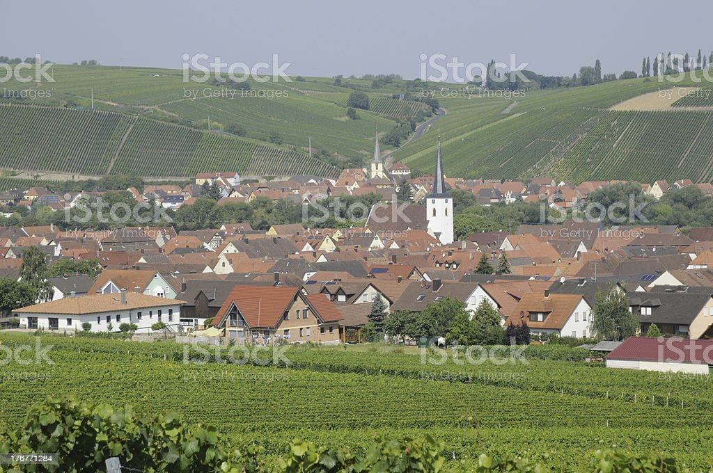 Nordheim, Germany royalty-free stock photo