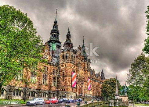 istock Nordic Museum in Stockholm, Sweden 500849601