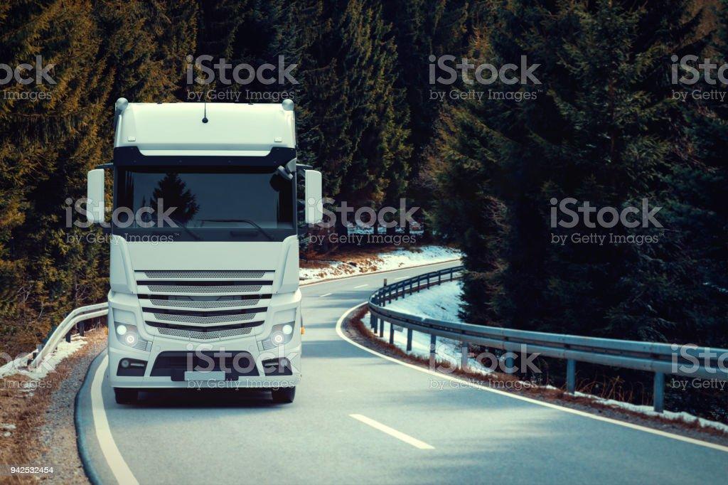 Nordische LKW-Transport – Foto
