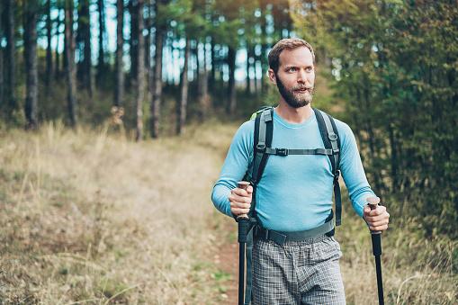 Nordic Walking Stockfoto und mehr Bilder von Abgeschiedenheit
