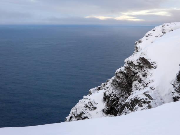 Nordkapp im Winter, Norwegen – Foto