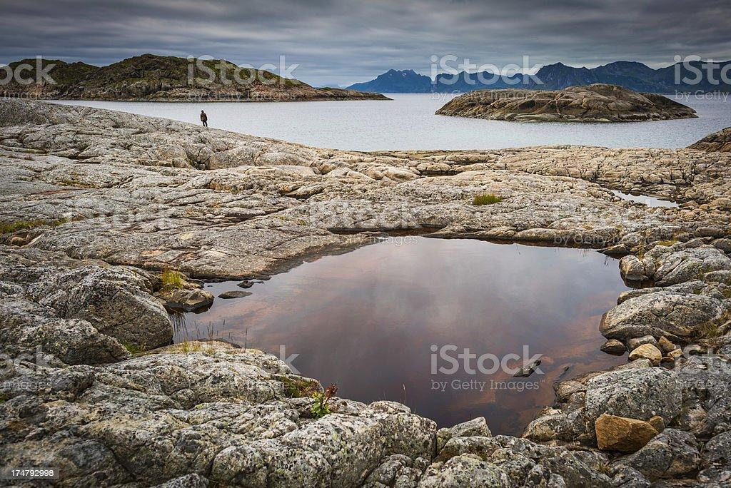 Nordland stock photo