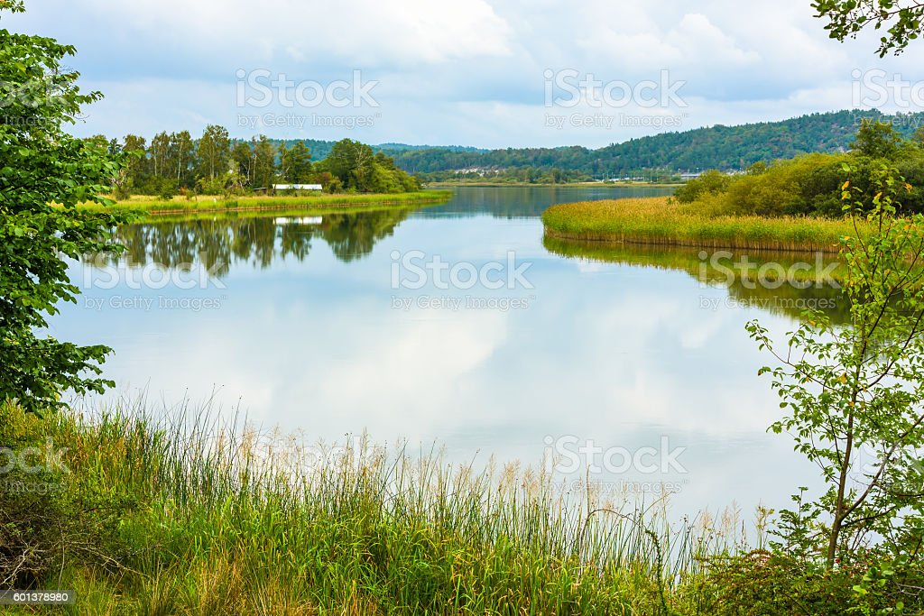 Nordre river stock photo
