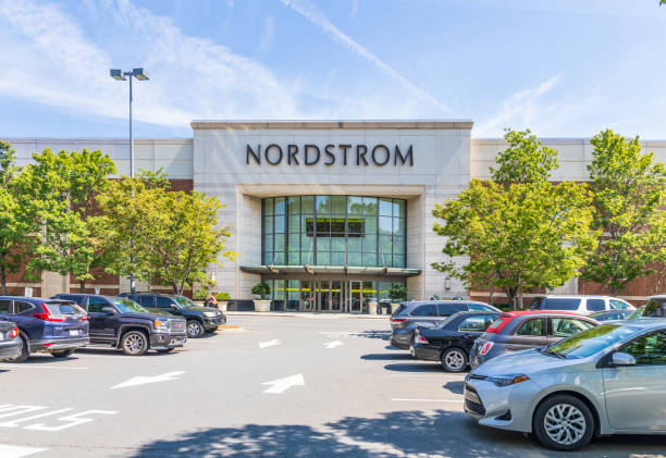 Nordstrom Department  Store, Southpark Mall stock photo