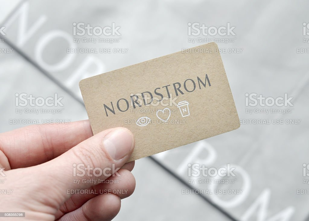 Nordstrom Gift Card Stock Photo Download Image Now Istock