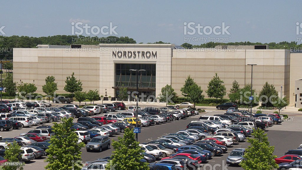 Nordstrom & parking. stock photo