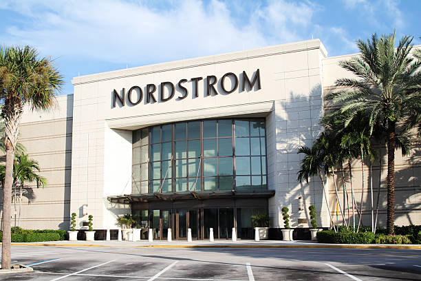 Nordstrom retail store stock photo