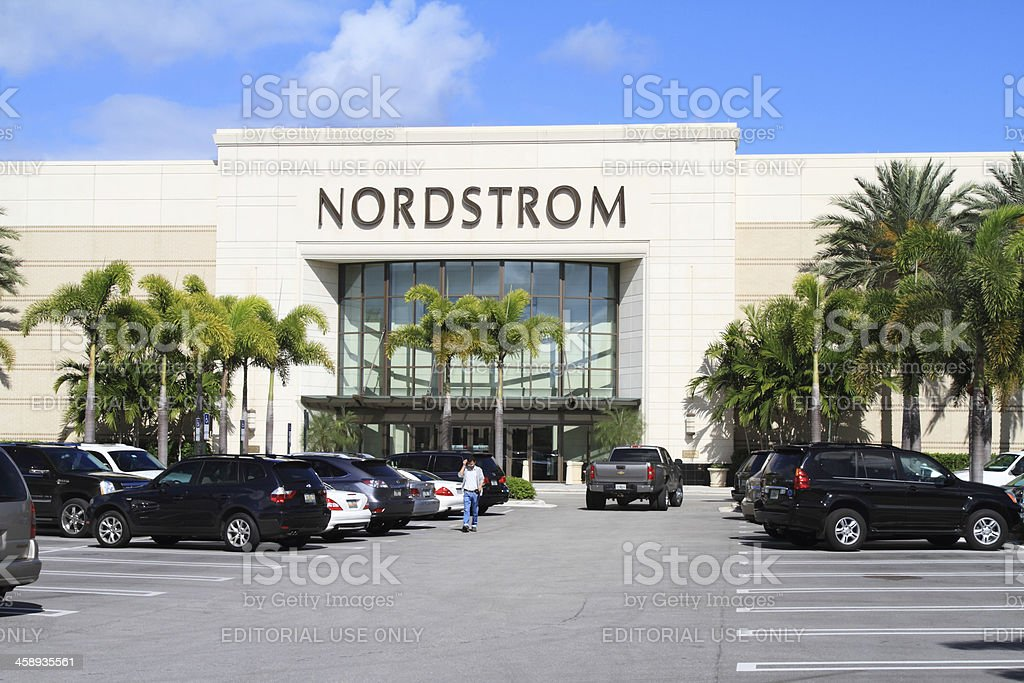 Nordstrom retail store royalty-free stock photo