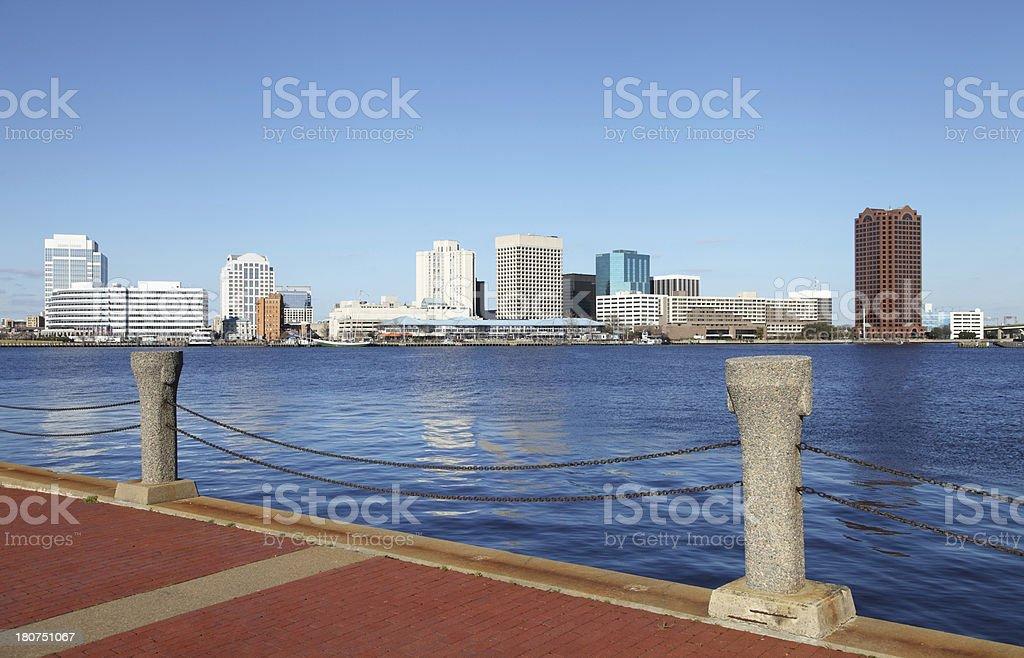 Norfolk, Virginia royalty-free stock photo