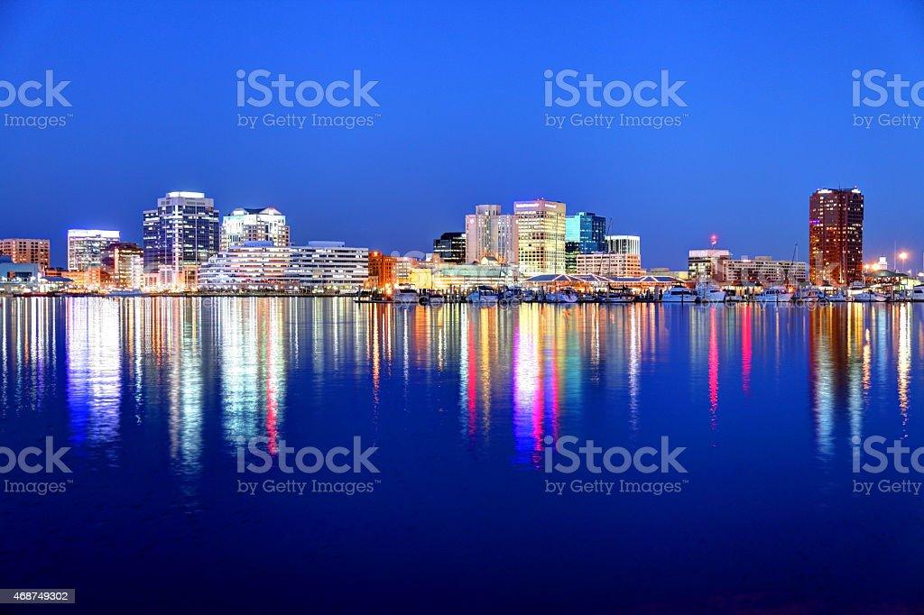 Norfolk Virginia stock photo