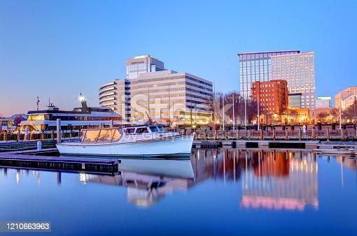 istock Norfolk, Virginia Waterfront 1210663963