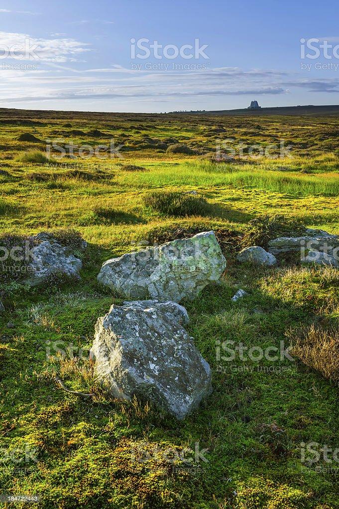 Nork York Moors at dawn, Goathland, Yorkshire, UK. royalty-free stock photo