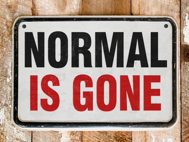 Normal Life Normal is gone bailout stock pictures, royalty-free photos & images