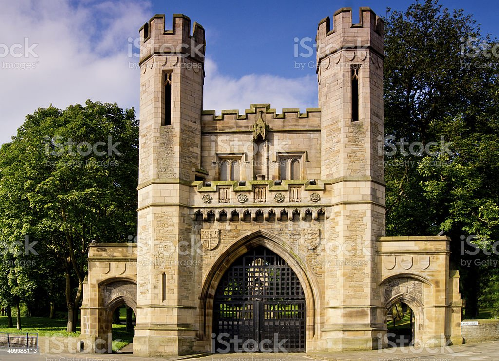 Norman Arch stock photo
