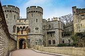 United Kingdom: Norman Gate, Windsor Castle's principal entrance to the Upper Ward.