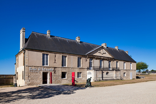 Normandy Museum In Caen Stock Photo - Download Image Now