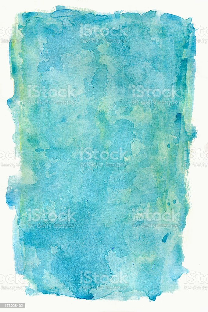 Noronha Blue Frame royalty-free stock photo