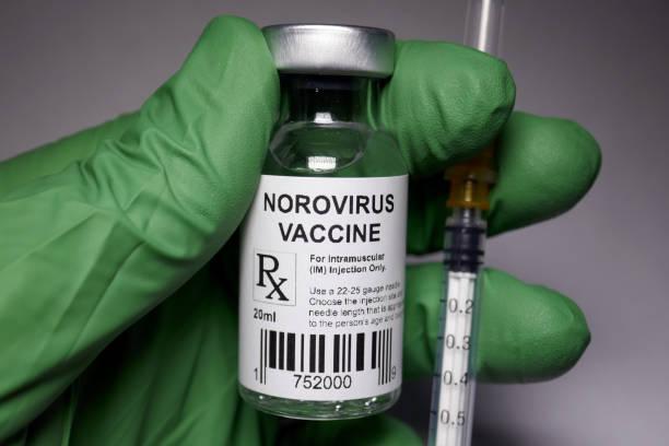 Norovirus immunization stock photo