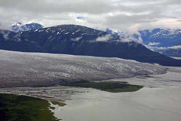 norris glacier, juneau icefield - juneau, alaska - alaska us state stock photos and pictures