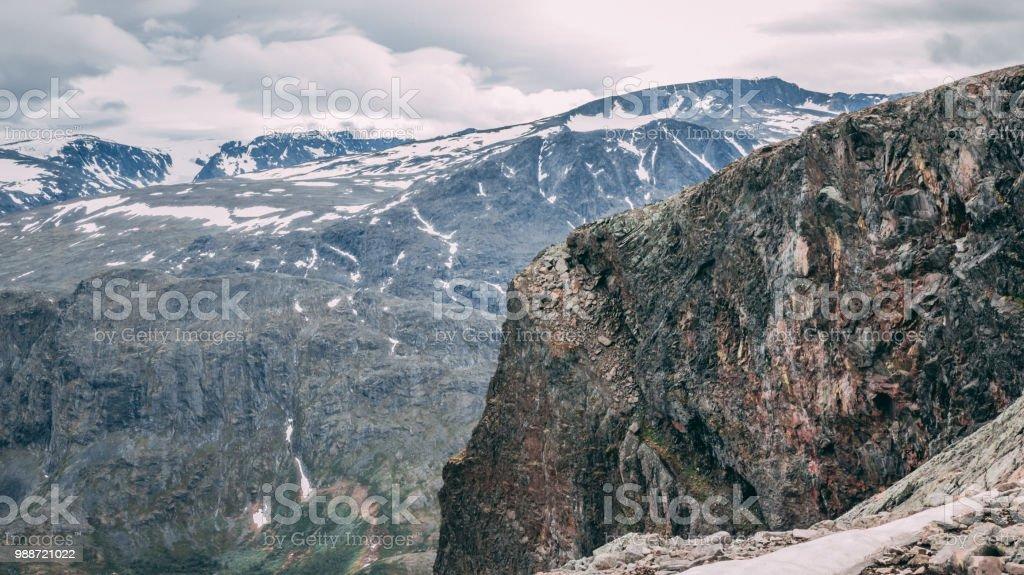 Norske fjell - Besseggen stock photo