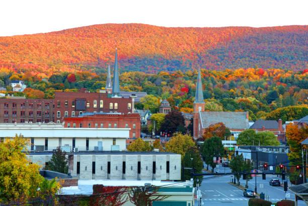 North Adams, Massachusetts stock photo